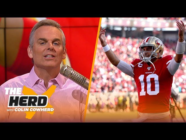 Chiefs are 39jet fuel39 for the NFL, Colin says Garoppolo is 39exactly what I want39 in a QB  THE HERD