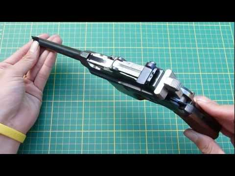 Mauser C96 Broomhandle Tutorial disassembly and reassembly