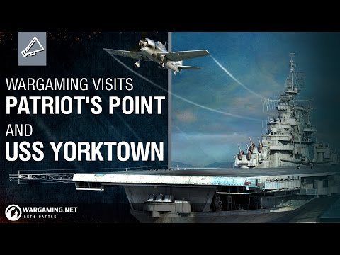 Wargaming at Patriot's Point and the USS Yorktown