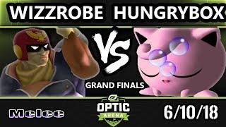OpTic Arena SSBM - [L] Wizzrobe Vs. Liquid ` Hungrybox - Smash Melee Grand Finals