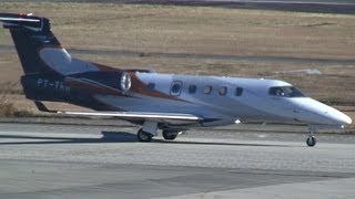 Embraer EMB-505 Phenom 300 PT-TRR Take off at Komaki