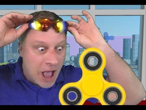 Top 10 CRAZIEST Fidget Spinners for MILLENNIALS