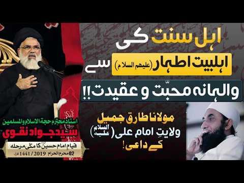 Ahl-e-Sunnat ki Ahl-e-Bait (as) se Walihana Mohabbat    Ustad e Mohtaram Syed Jawad Naqvi