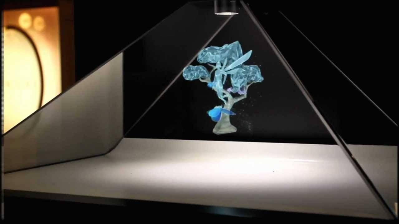 Лазерная голограмма своими руками