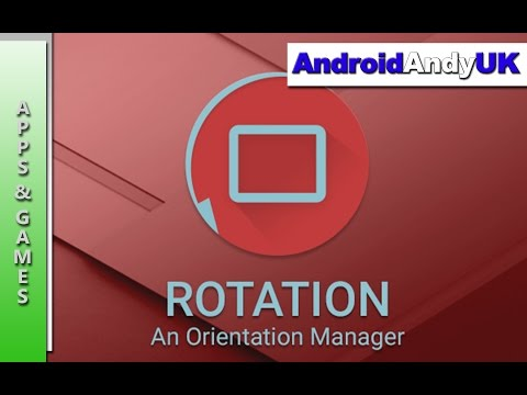 Rotation Orientation Manager Android App Review