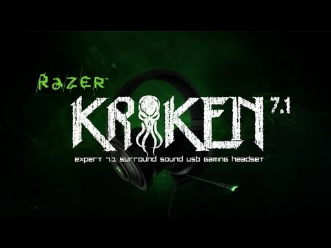 The Razer Kraken 7.1 USB Gaming Headset
