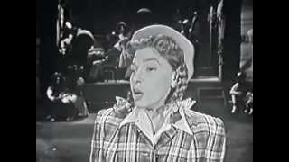 Judy Canova, I Can't Give You Anything But Love, Big Record, 1958 TV