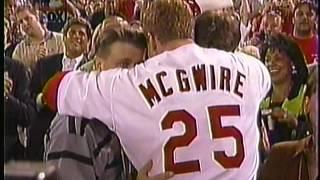Mark McGwire's 62nd Home Run