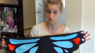 The NOT so Avengers - Butterfly Girl DIY Kids Costume