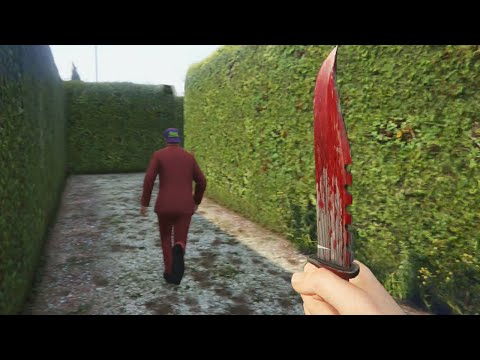 GTA 5 Funny Moments - Extremely Scary Hide N Seek