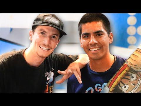 REAL PRO SKATER VS YOUTUBE PRO SKATER!