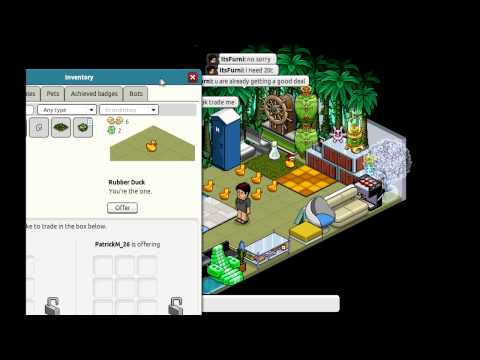 Habbo Hotel: Petal Patch Scam + 600 SUBSCRIBERS!