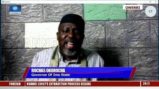 Oshiomhole Does Not Have The Powers To Suspend Me - Okorocha |Sunday Politics|