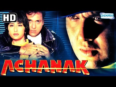Achanak {HD} - Govinda - Manisha Koirala - Bollywood Hit Movie - (With Eng Subtitles) thumbnail