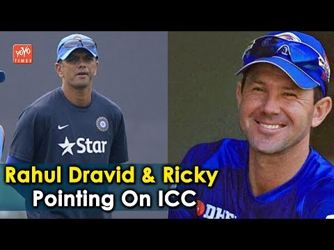 Rahul Dravid And Ricky Ponting Inducted Tnto ICC Hall Of Fame | Cricket News| YOYO Times