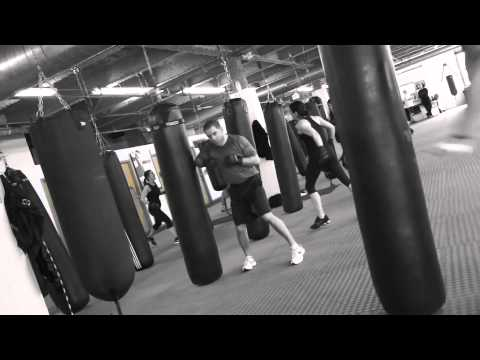 Heavy Bag Kickboxing Workouts: Jab Cross Elbow Image 1