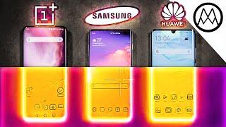 OnePlus 7 Pro vs Samsung S10+ vs Huawei P30 Pro OVERHEATING TEST.