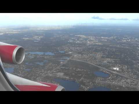 VIR27 London Gatwick (LGW) - Orlando International (MCO) - Boeing 747-443 - G-VROY (Full Flight)