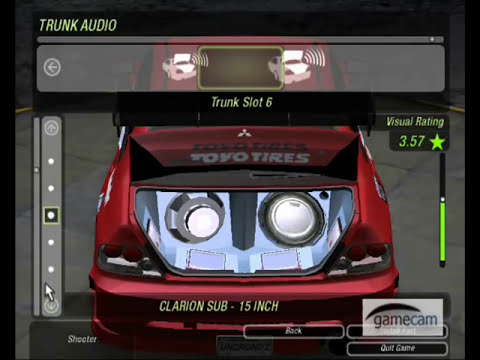 Need For Speed Underground 2- How to make the   Mitshubishi Evo 8 from FaF Tokyo Drift