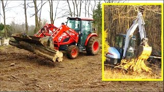 Clearing trees for Ham Radio antenna 5btv