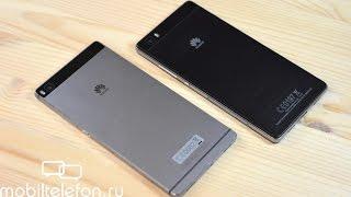 Обзор-сравнение Huawei P8 и P8 Lite: игры, камера, звук, батарея (review and comparison)