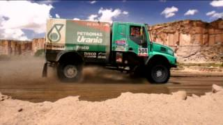 IVECO CHASE ANOTHER VICTORY WITH GREAT COMMITMENT.  Dakar 2015 - Stage 10 & 11