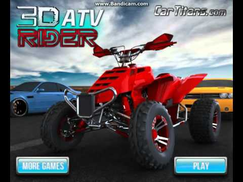 Car Games Online >> Play car racing games online for free no download - 3D Atv Rider - YouTube