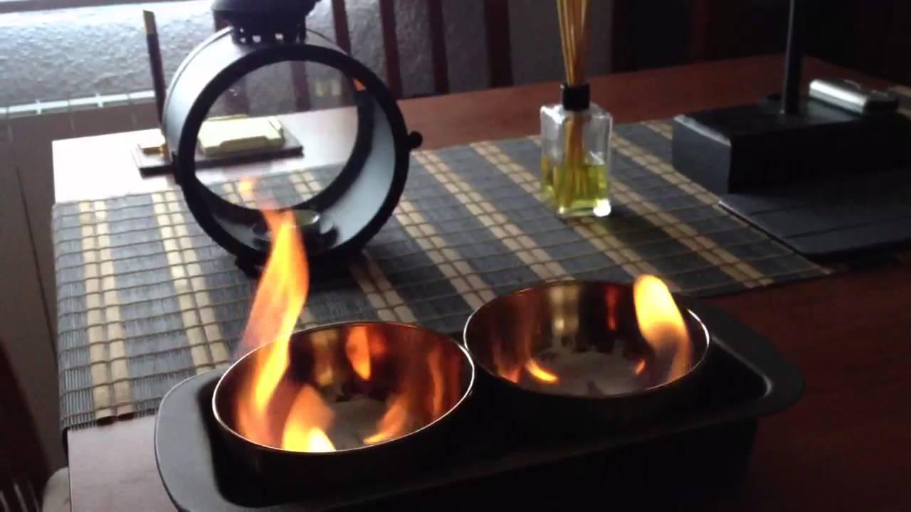 Quemador casero de bioetanol youtube - Hacer chimenea bioetanol ...