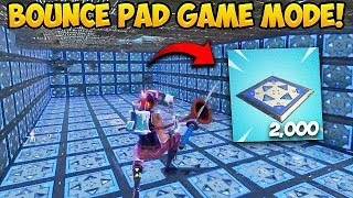 *NEW* BOUNCE PAD Custom Gamemode! - Fortnite Funny Fails and WTF Moments! #270