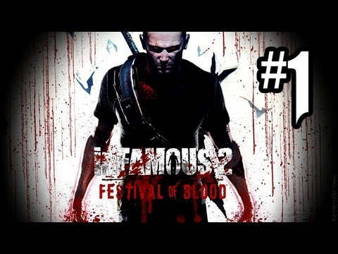 Infamous: Festival Of Blood DLC Gameplay Walkthrough Part 1 – BLOOD & ELECTRICITY!! (PS3 HD)