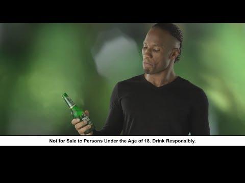 Pub avec Didier Drogba pour de la bière