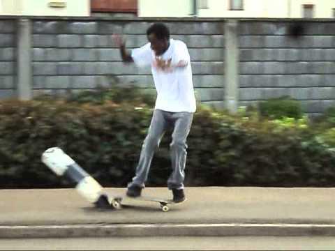 kenya skateboarding: Nyayo estate seshing :D