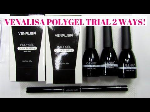 DISASTROUS Venalisa Polygel Trial 2 Ways!