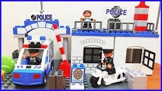 Đồ chơi lắp ráp lego đồn cảnh sát police và tội phạm (Chim Xinh)