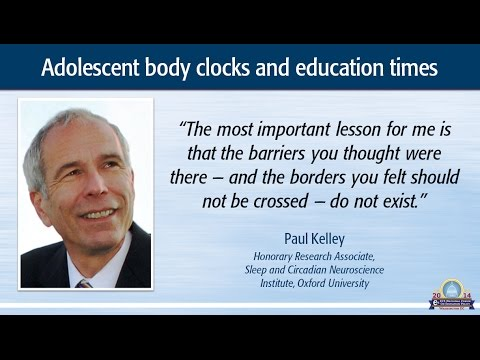 Adolescent body clocks and education times