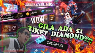 GRATIS 51 SPIN VOUCHER DIAMOND ROYAL BORONG Wicked Jester - Garena Free Fire