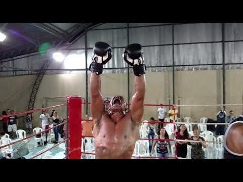 Campeonato Muay Thai de Bom Despacho 2018 - Washington Santos X William