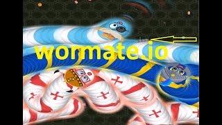 Wormate.io #100   Trò chơi rắn săn mồi   Game rắn săn mồi