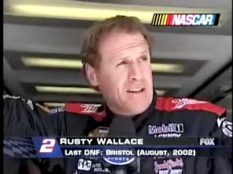 2004 Auto Club 500 - Rusty Wallace/Kurt Busch Crash