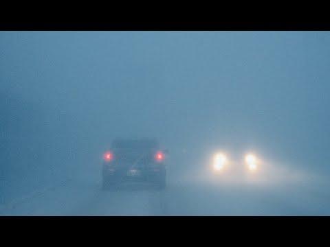 冬の秋田 過酷な雪道 - Snow Load