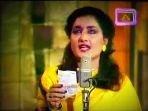Naheed Akhtar - Khushboo Hoon Teray Sang Rehti Hoon - LIVE
