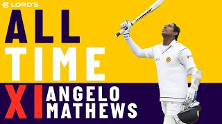 Tendulkar, Kallis & Muralitharan - Angelo Mathews' All Time XI