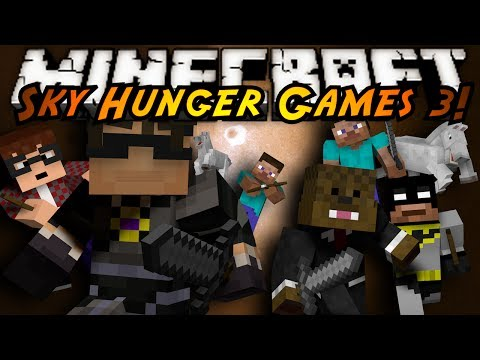 Minecraft Sky Hunger Games : TEAM BATTLE!