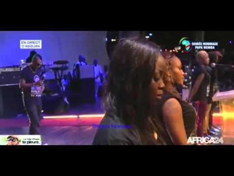 En Direct d'Abidjan , hommage à Papa Wemba. ! RIP Ekumani, Mzee Fula Ngenge