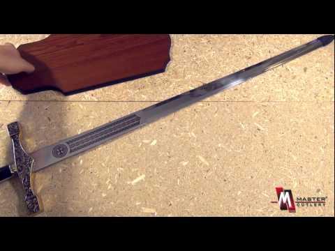 Excalibur Medieval Brass Sword C-900G  Product Video