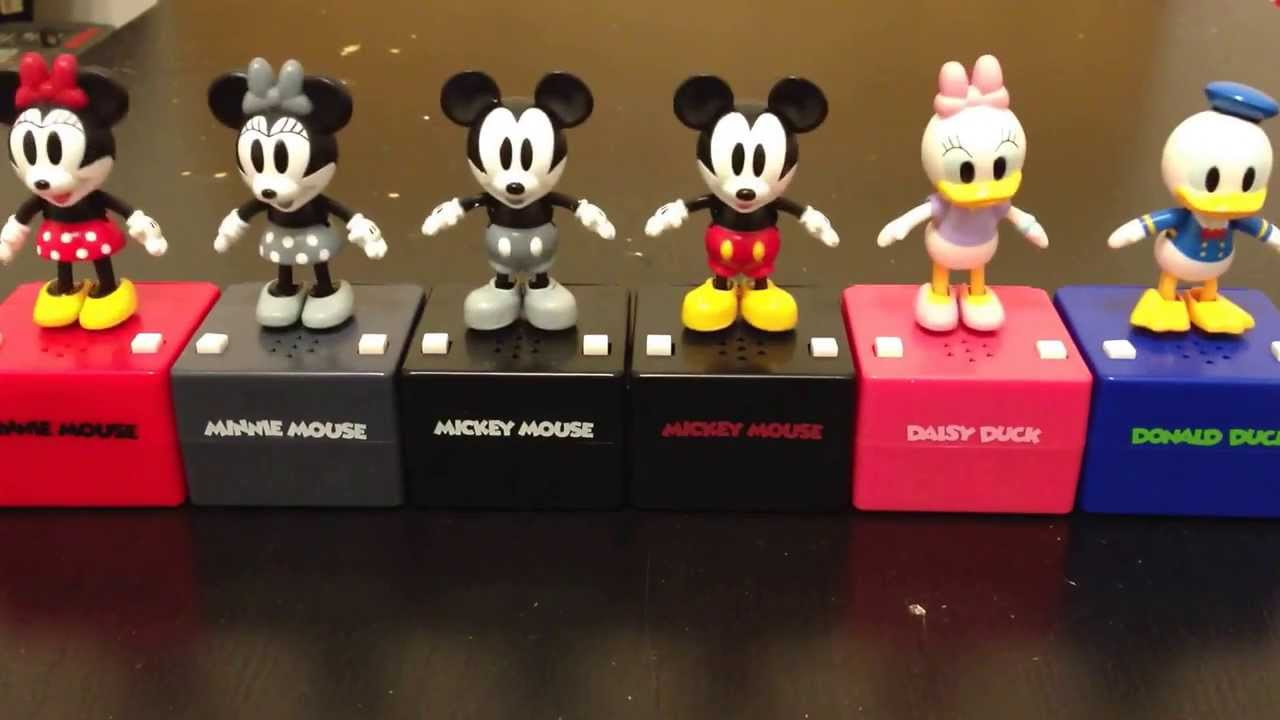 Disney Tap Dancing Doll Mickey Mouse Minnie Mouse Donald