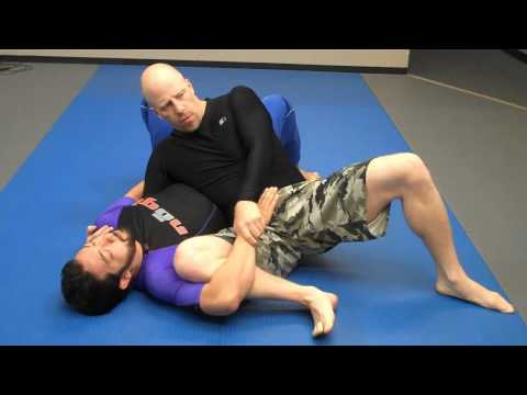 Jay-jitsu BJJ - No Gi - Side mount to triangle / arm attack