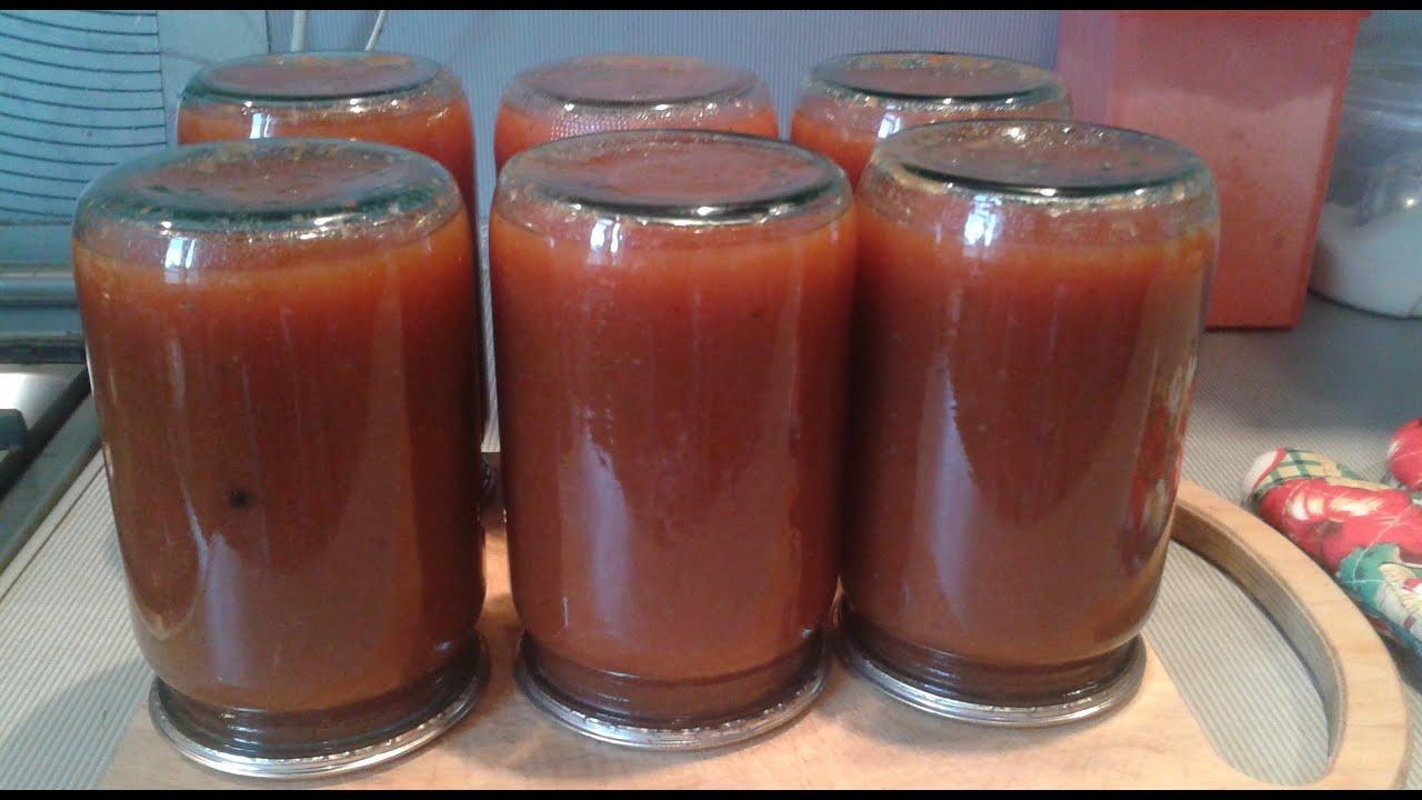 Кетчуп краснодарский в домашних условиях на зиму рецепт
