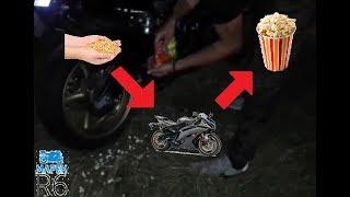 Popcorn and Yamaha Mix!