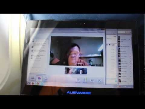 Skype Call and Google + Hangout with Gogo Inflight Wifi